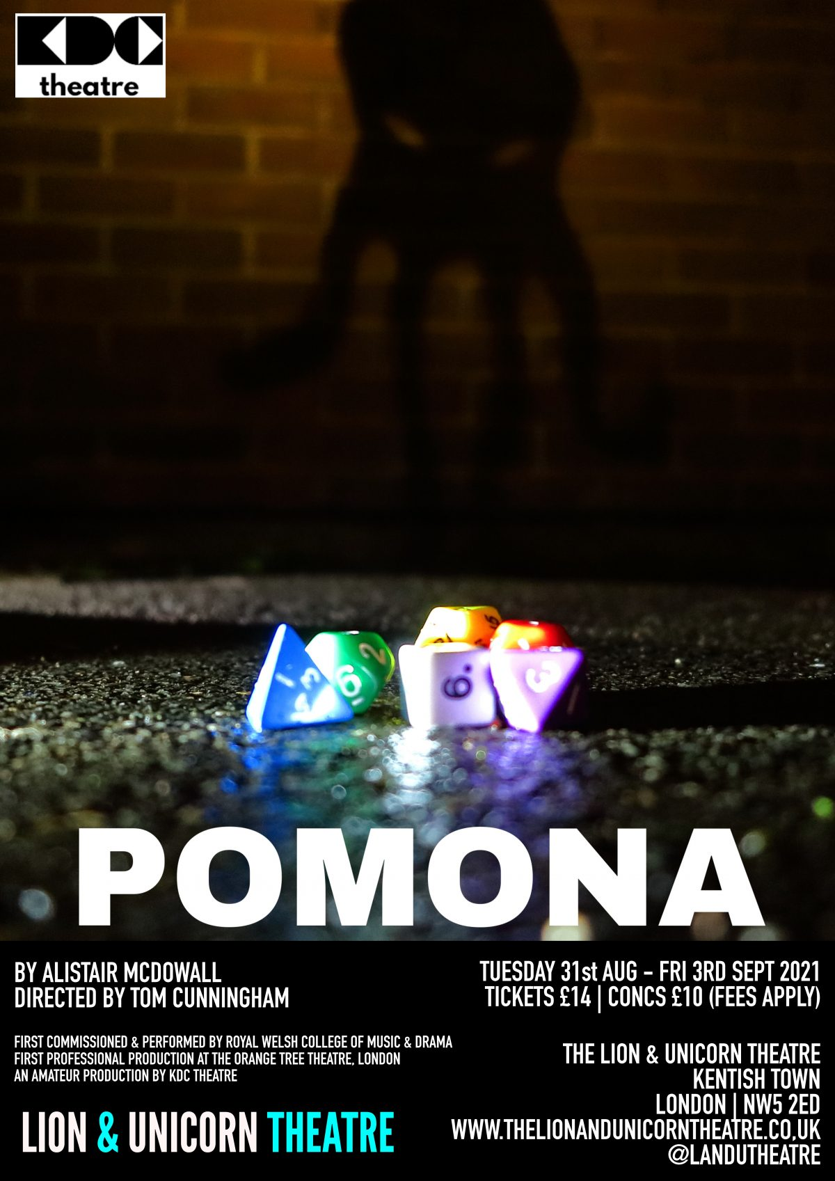 Pomona Poster, KDC 2021